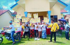 Kampanyekan Jokowi, Relawan Supriyadi Alfian Meriahkan Deklarasi Pujo Di Lampung