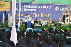 Walikota Ajak Mahasiswa Darmajaya Bantu Pembangunan Daerah