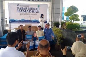 Pasar Murah BI Lampung Sediakan 1.500 Paket Bahan Pokok