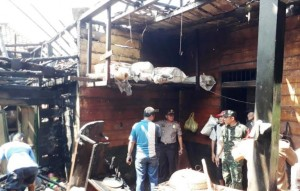 Kebakaran Nyaris Ludeskan Rumah Di Pagelaran