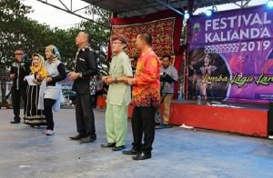 Hadiri Lomba Lagu Lampung, Nunik Sumbang Lagu Tanah Lado