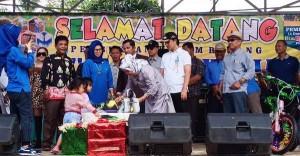 Wakil Bupati Resmikan Kolam Renang Taman Bahagia