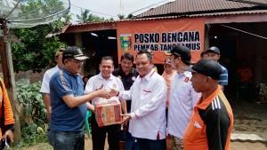 Logistik Korban Bencana Di Semaka Masih Cukup Untuk Tiga Hari