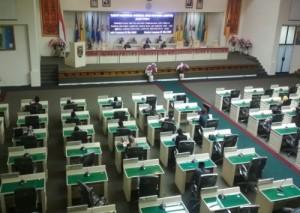 Paripurna Penyampaian LKPJ Gubernur Lampung Sepi