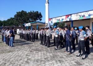 Seratus Personel Polres Lamtim Amankan Deklarasi Pujo Di Sribawono