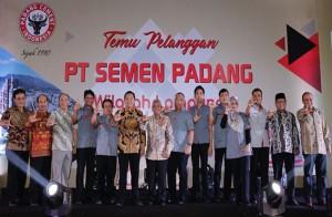 Gubernur Ajak Semen Padang Dukung Infrastuktur Lampung