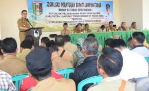DPMD Lamtim Sosialisasi Pilkades Serentak