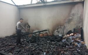 Gudang Hangus Dilalap Api, Sarno Rugi Rp150 Juta