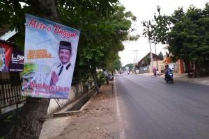 Calwakot Pasang Poster Di Pohon Dinilai Tak Peduli Lingkungan