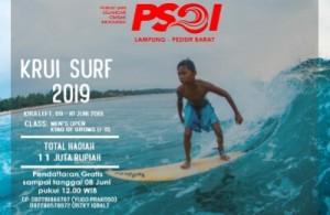 PSOI Matapkan Persiapan Krui Surf, 30 Peserta Sudah Mendaftar