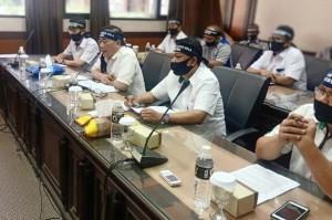 Forum Komunikasi Serikat Pekerja Pabrik Gula Sambangi DPRD Jatim
