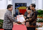Gubernur Terima DIPA Lampung 2020 Dari Presiden