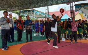 SMAN 1 Banjaragung Gelar Kejuaraan Basket