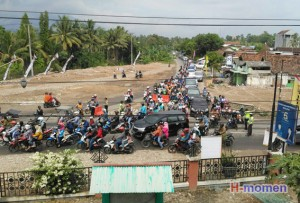 Polres Pesawaran Antisipasi Kemacetan Arus Balik Lebaran