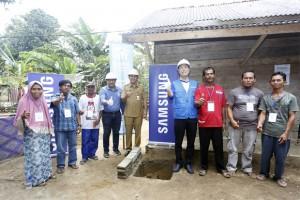 Samsung-Habitat For Humanity Bangun Kemitraan Pembangunan