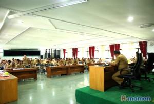 Di Lampung Barat, Camat Dilarang Tinggalkan Wilayah Tugas