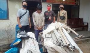 Warga Tangkap Pencuri Kusen Universitas Megou Pak