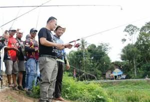 Pringsewu Tuan Rumah Mancing Mania Se-Lampung