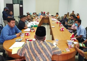 DPRD Tubaba Minta BPBD Stop Proyek Penimbunan Jalan