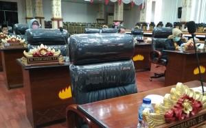 Rapat Paripurna LKPj Walikota Metro, Delapan Anggota DPRD Mangkir