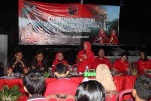 DPC PDIP Kota Metro Kukuhkan 120 Pengurus Anak Ranting