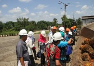 Balitbangda Kalsel Studi Banding Tatakelola Cangkang Sawit Ke PTPN VII