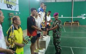 Tournamen Bulutangkis Piala Danyonif -7 Marinir Resmi Berakhir
