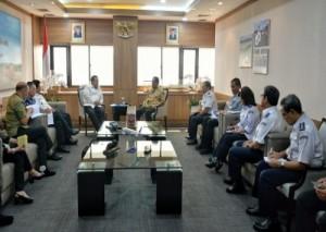 Ini Hasil Pertemuan Gubernur Lampung Dan Menhub