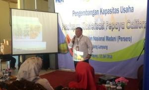 PT PNM Lampung Ciptakan Petani Tangguh Dan Mandiri, Ini Alasannya