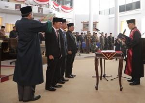 Tiga Pimpinan DPRD Waykanan Ditetapkan