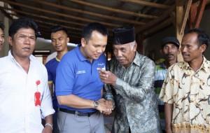 Ridho Kunjungi Petani Di Lampung Timur