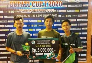 Kejuaraan Biliar Piala Bupati OKU, POBSI Pringsewu Kirim Tiga Atlet