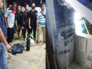 ATM Di Indomaret Nyaris Dibobol, Peralatan Maling Tertinggal Di Lokasi