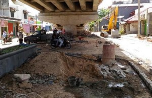 Komisi II DPRD Desak Distanbun Perbaiki Taman Terdampak Flyover
