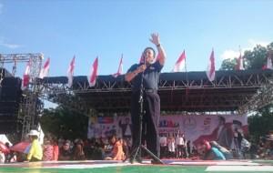 Janji Bangun Wisata Kuliner, Arinal Ajak Warga Metro Pilih Jokowi