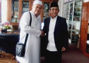Jelang Pilwakot, Firmansyah Sambangi Petinggi UIN Lampung