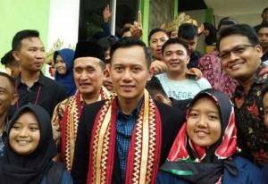 AHY Sambangi Kantor Demokrat Lampung, Ini Tujuannya