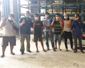 Yutuber Genjot Rute Kampanye, Bagikan Masker Hingga Pencuci Tangan