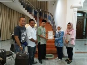 KPU Lampung Kunjungi Posko Pemenangan Arinal-Nunik