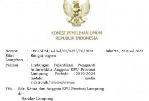 Pekan Ini, Titik Resmi Gantikan Esti Di KPU Lampung