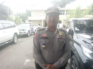 Puluhan Personel Polisi Kawal Arinal-Nunik