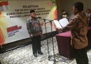 Ini Timsel KPU Kabupaten/Kota Yang Dilantik