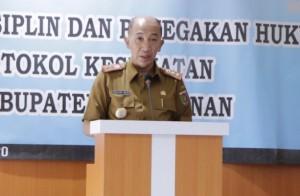 Cegah Covid-19, Pjs Bupati Waykanan Minta Jajaran Pemkab Tingkatkan Koordinasi