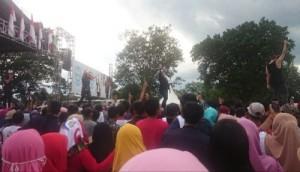 Nunik Kampanyekan Jokowi Di Lamteng