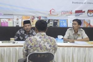 120 Relawan Pemilu 2019 Tes Wawancara Di KPU Waykanan