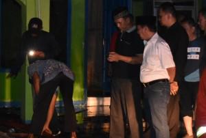 Walikota Bandarlampung Tinjau Kebakaran Ponpes