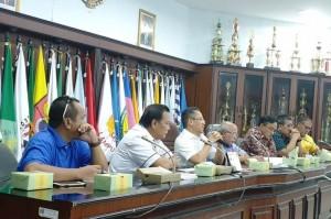 Rapat Unsur Pimpinan, Koni Lampung Evaluasi Cabor Menuju Porwil Di Bengkulu