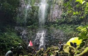 Kembangkan Air Terjun Way Asahan Jadi Obyek Wisata, TNBBS Gandeng Genpi Lambar