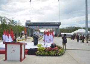 Peresmian JTTS Terbanggibesar - Pematangpanggang - Kayuagung Ditunda Siang