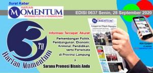 HARIAN MOMENTUM EDISI 28 SEPTEMBER 2020